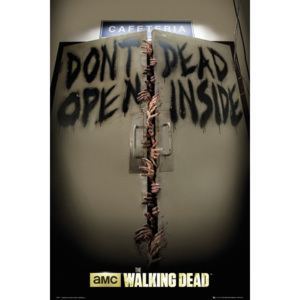 THE WALKING DEAD - Keep Out Poster, (61 x 91,5 cm)
