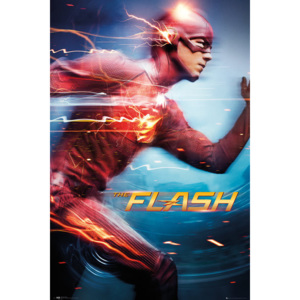 Flash - Run Poster, (61 x 91,5 cm)