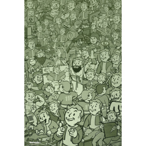 Fallout - Compilation Poster, (61 x 91,5 cm)