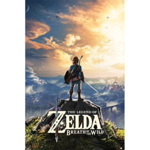 The Legend Of Zelda: Breath Of The Wild - Sunset Poster, (61 x 91,5 cm)