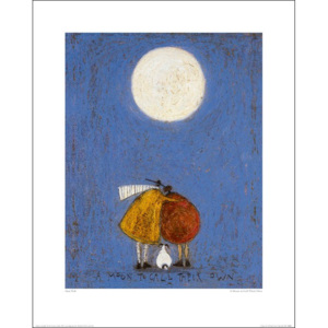 Sam Toft - A Moon To Call Their Own Reproducere, (30 x 40 cm)