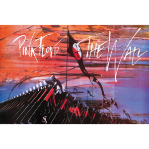 Pink Floyd: The Wall - Hammers Poster, (91,5 x 61 cm)