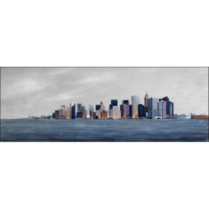 View from boat to Manhattan Reproducere, Semenzato, (140 x 50 cm)