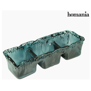 Recycled Glass Centerpiece Gri - Pure Crystal Deco Colectare by Homania