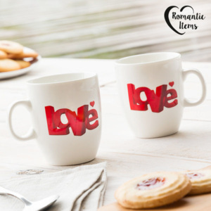 Căni Love Romantic Items (pachet de 2)