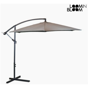 Umbrelă de soare Ø 300 cm Gri by Loom In Bloom
