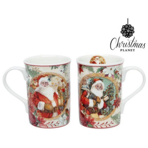 Set de Cești Christmas Planet 4247 (2 pcs) Moș crăciun