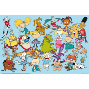 Nickelodeon - Characters Poster, (91,5 x 61 cm)
