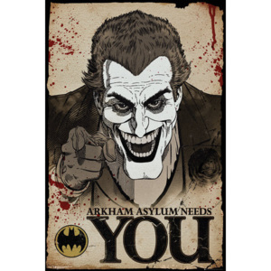 Batman Comic - Joker Needs You Poster, (61 x 91,5 cm)