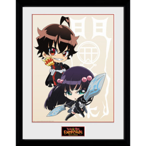 Twin Star Exorcists - Chibi Afiș înrămat