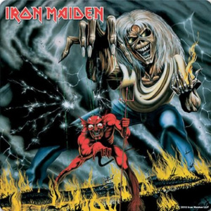 Iron Maiden - Number Of The Beast Suporturi pentru pahare