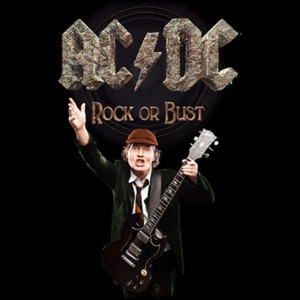 Poster textile AC/DC – Rock Or Bust / Angus