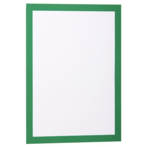 Display magnetic Durable Duraframe, A4, verde, 2 bucati/set