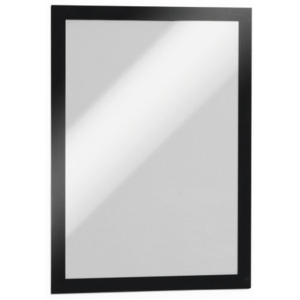 Display magnetic Durable Duraframe, A4, negru, 2 bucati/set