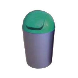 Cos Flip-Flap colectare selectiva, 12 litri, capac verde