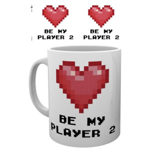 Valentines - Player 2 Cană