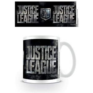 Justice League Movie - Metallic Logo Cană