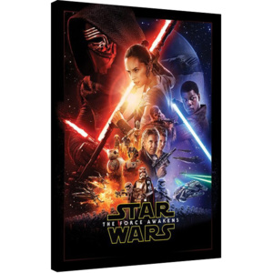 Star Wars Episode VII: The Force Awakens - Rey Tri Tablou Canvas, (60 x 80 cm)