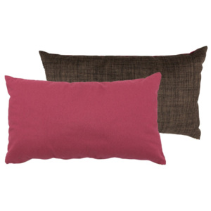Set 2 perne Karup Deco Cushion Light Bordeaux/Choco, 45 x 25 cm