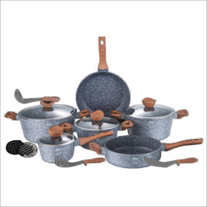 Set oale marmorate Forest Line 15 piese Berlinger Haus BH 1213