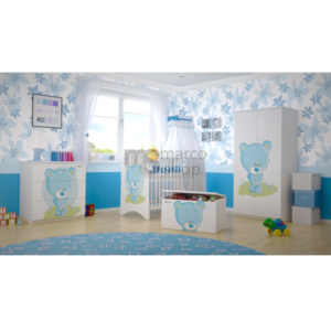 Mobila bebe Blue Bear