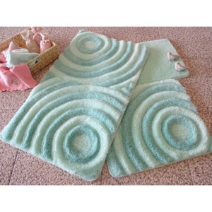 Set 3 covorase baie, Alessia Home, Wave - Mint