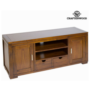 Stativ de tv forest cu 2 sertare - Chocolate Colectare by Craftenwood
