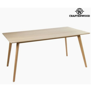 Masă de Sufragerie Mdf Maro (160 x 90 x 75 cm) - Natural Colectare by Craftenwood