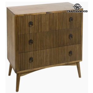 Comodă Tec Mdf Maro (82 x 40 x 81,50 cm) - Be Yourself Colectare by Craftenwood