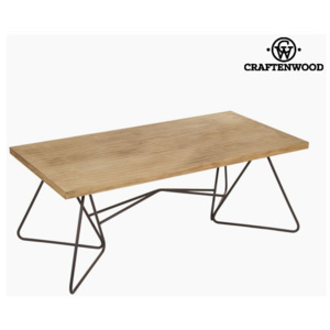 Masa de Cafea 120 x 45 x 60 cm) Forjare Brad Negru - Perfect Colectare by Craftenwood