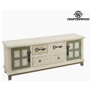 Mobilă TV Mdf Lemn (130 x 35 x 51 cm) - Tree Leaves Colectare by Craftenwood