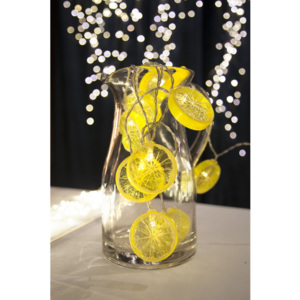 Șirag luminos LED Best Season Fruity Lemons, 10 becuri