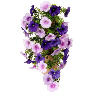 Floare artificială Petunie violet, 40 cm