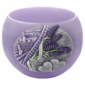 Lumânare decorativă Lavender Kiss lampion