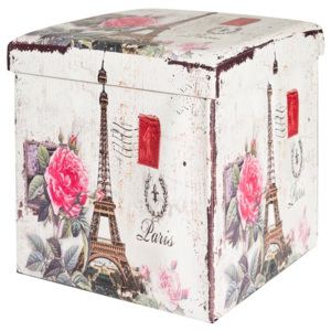 Taburet decorativ ALEX 37x37x40 cm (37x37x40)