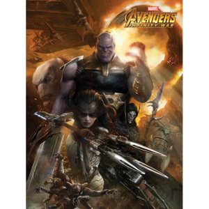 Avengers Infinity War - Children of Thanos Tablou Canvas, (60 x 80 cm)
