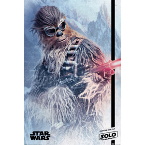 Solo: A Star Wars Story - Chewie Blaster Poster, (61 x 91,5 cm)