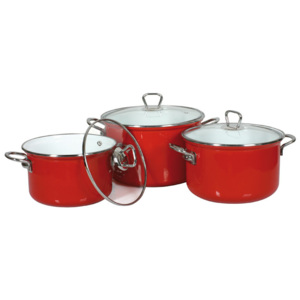 Set de oale emailate - Calipso, 6 piese