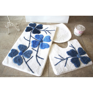 Set covorase baie Chilai Home by Alessia, 351ALS2069, 3 Piese, acril