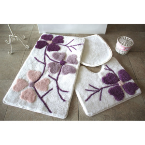 Set covorase baie Chilai Home by Alessia, 351ALS2070, 3 Piese, acril
