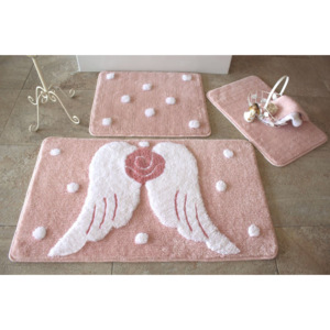 Set covorase baie Chilai Home by Alessia, 351ALS2081, 3 Piese, acril