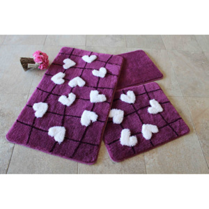 Set covorase baie Chilai Home by Alessia, 351ALS2065, 3 Piese, acril