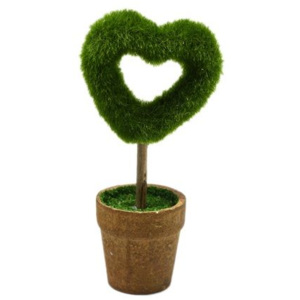 Decor topiary inima plante artificiale