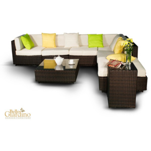 Set de gradina Lusso Brown