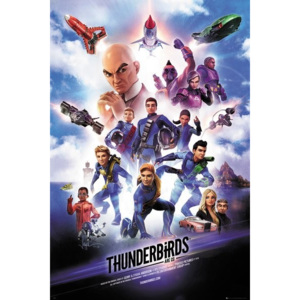 Thunderbirds Are Go - Keyart Poster, (61 x 91,5 cm)