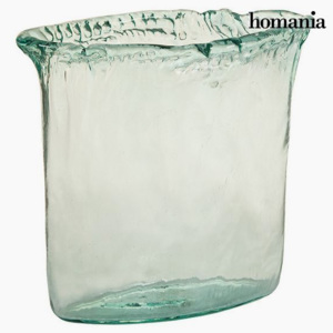 Vază din Sticlă Reciclată Transparent - Pure Crystal Deco Colectare by Homania
