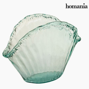 Recycled Glass Centerpiece - Queen Deco Colectare by Homania