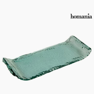 Recycled Glass Centerpiece - Pure Crystal Deco Colectare by Homania