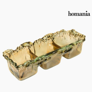 Recycled Glass Centerpiece Chihlimbar - Crystal Colours Deco Colectare by Homania