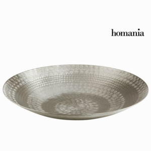 Decor central rectangular argintiu - New York Colectare by Homania